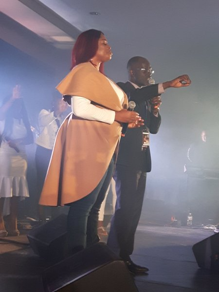 Rev Kiirya introduces Sinach