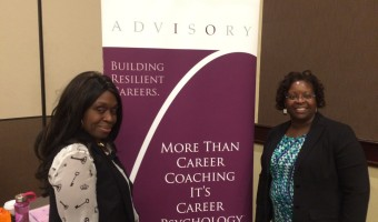 Sarah Jacobs of the Ottawa Opportunity Network, left with Dr. Helen Ofosu of I/O Advisory