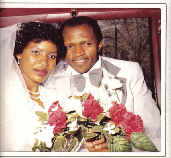 Nkiru & Fide's wedding 1980