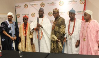Nigerian royalty at the Canadian Museum of History