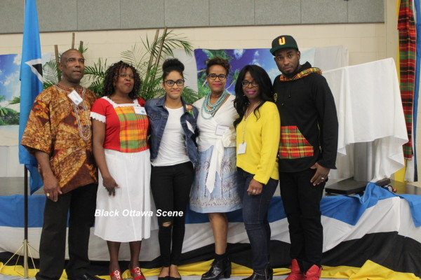 Executive Community members o the St. Lucia Ottawa Association