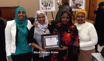Canadian Somali Women's Association with the 2014 Black History Ottawa Community Builder award