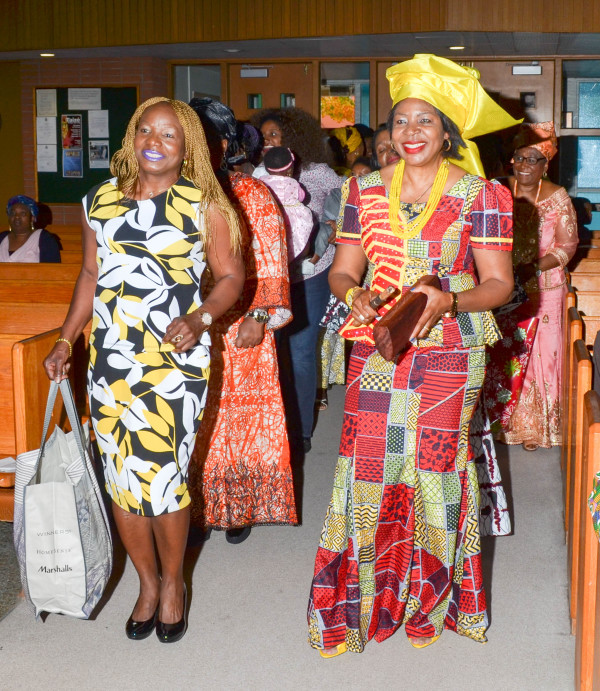 Vera and Nkeiru lead the joyful celebration