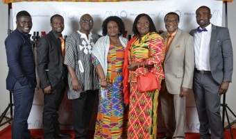 Executive Committee with Ghana's  Deputy High-Commissioner to Canada