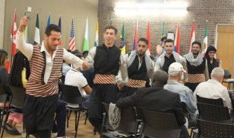 Syrian traditional dancers