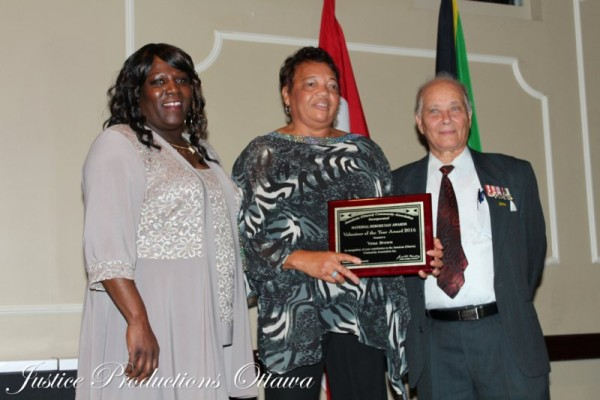 Verna Brown, winner of Volunteer of the Year Award Photo credit-Katrice Bent
